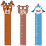 Cute bumper children meter wall. Stock Photography