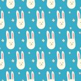 Cute bunnies. Seamless pattern. Vector illustration Vector Illustration