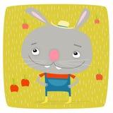 Farmer bunny Royalty Free Stock Image
