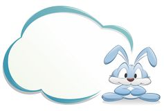 Free Cute Bunny With Frame Royalty Free Stock Photos - 21473708