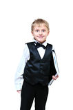 Cute business boy Royalty Free Stock Photo