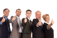 cute business people Royalty Free Stock Images