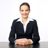 Cute Business Woman Royalty Free Stock Images