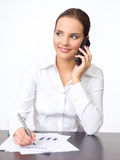 Cute Business Woman Stock Photos