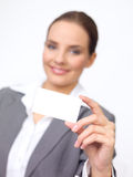 Cute Business Woman Stock Photo