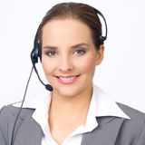 Cute Business Woman Royalty Free Stock Photography