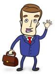 Cute businessman Royalty Free Stock Photo