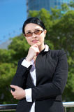 Cute businesswoman Royalty Free Stock Image