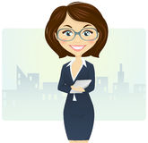 Cute businesswoman Royalty Free Stock Photography