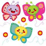 Cute Butterflies Stock Photos