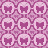 Cute butterfly pattern Royalty Free Stock Photography