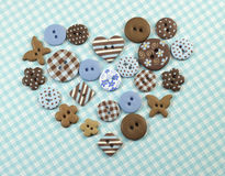 Cute buttons Stock Photos