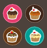 Cute cakes Royalty Free Stock Photo