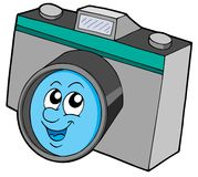 Cute camera Royalty Free Stock Photo