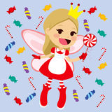 Cute Candy Fairy Royalty Free Stock Images