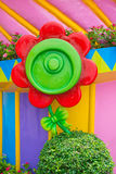Cute candy sunflower Stock Images