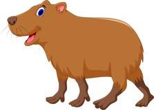 Cute capybara cartoon Stock Photo