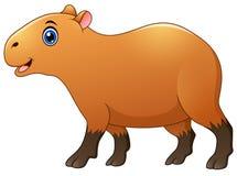 Cute capybara cartoon Royalty Free Stock Photography