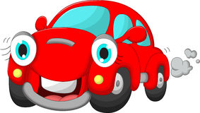 Cute car cartoon Stock Photography