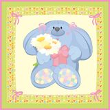 Cute card for small baby Royalty Free Stock Image
