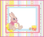 Cute card for small kid. Royalty Free Stock Image