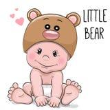 Cute cartoon baby Stock Images