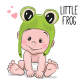 Cute cartoon baby Stock Images