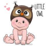 Cute cartoon baby Stock Photo