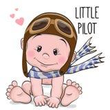 Cute cartoon baby Royalty Free Stock Image