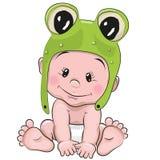 Cute cartoon baby Royalty Free Stock Photography