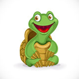 Cute cartoon baby turtle Stock Photo