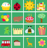 Cute cartoon background Royalty Free Stock Photography