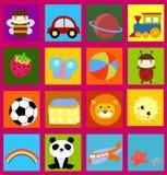 Cute cartoon background Stock Photo