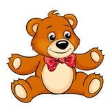 Cute Cartoon Bear. Vector Illustration Royalty Free Stock Images