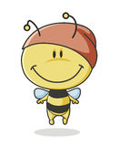 Cute cartoon bee Royalty Free Stock Images