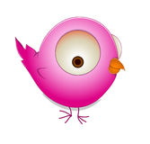 Cute Cartoon Bird Royalty Free Stock Images
