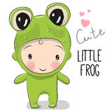Cute Cartoon boy Stock Photo
