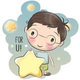 Cute Cartoon Boy Stock Images
