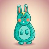 Cute cartoon bunny 2 Stock Photo