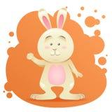 Cute cartoon bunny toy  Stock Image