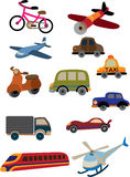 Cute cartoon car Stock Image