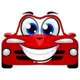 Cute Cartoon Car Mascot stock illustration