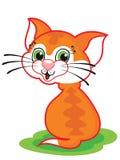 Cute cartoon cat Royalty Free Stock Photos