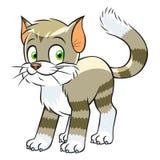 Cute cartoon cat Royalty Free Stock Images