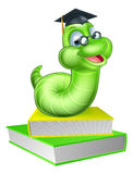 Cute Cartoon Caterpillar Worm Stock Photo