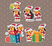 Cute cartoon Christmas Holiday,animal santa Royalty Free Stock Photo