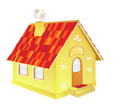 A cute cartoon country house Stock Photography