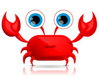 Cute cartoon crab Royalty Free Stock Images