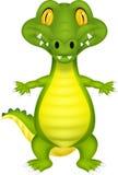 Cute cartoon crocodile Royalty Free Stock Images