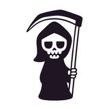 Cute cartoon death stock illustration